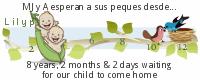 Lilypie tickers que esperan adoptar
